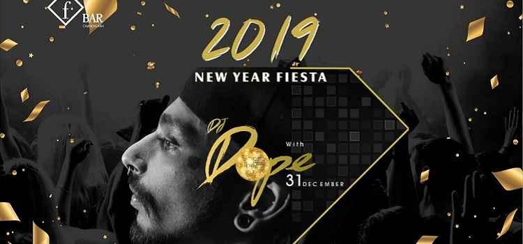 New Year Fiesta 2019 At Fbar, Chandigarh