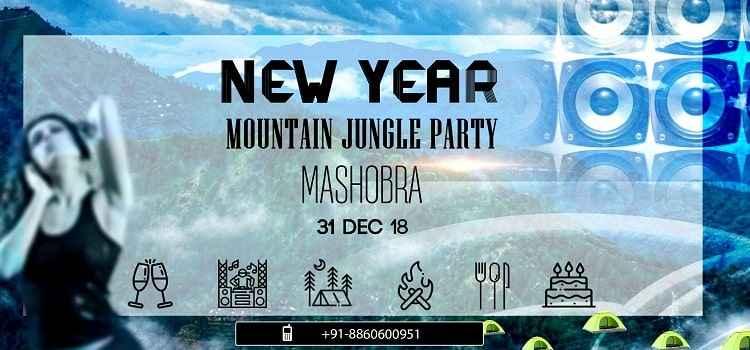 New Year Mountain Jungle Party At Mashobra