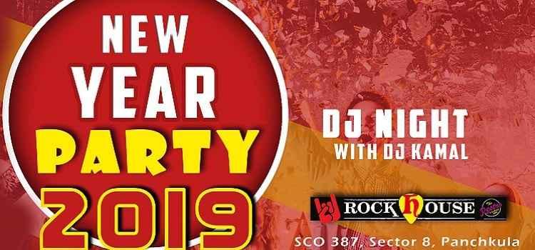 New Year Party 2019 At Rock House, Panchkula