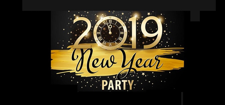 retro theme new year party 2019 at puzzles panchkula