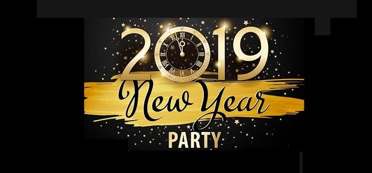 retro theme new year party 2019 at puzzles panchkula