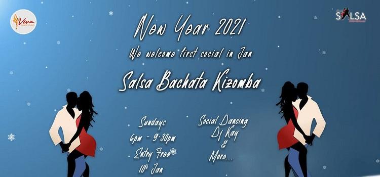 New Year Salsa Social At Boathouse