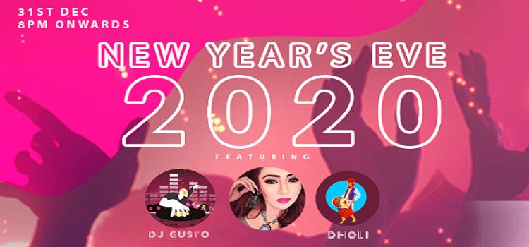 New Years Eve 2020 at Koba Social, Ahmedabad
