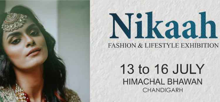 Nikaah- A Fashion And Lifestyle Exhibition At Himachal Bhawan, Chandigarh