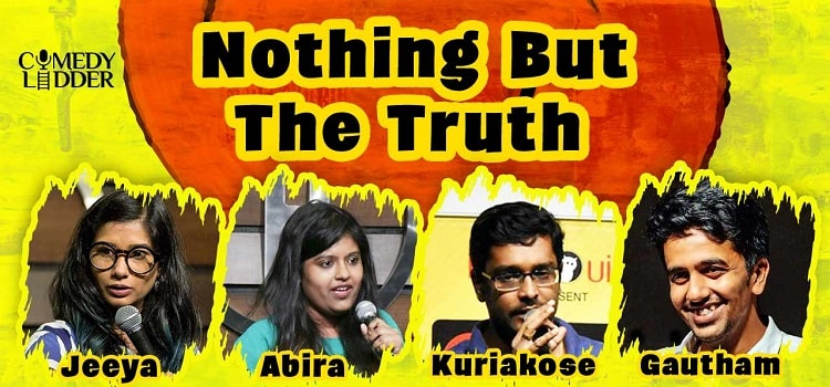 Nothing But The Truth Online Comedy Event
