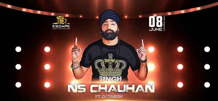 NS Chauhan Performing Live At The Escape
