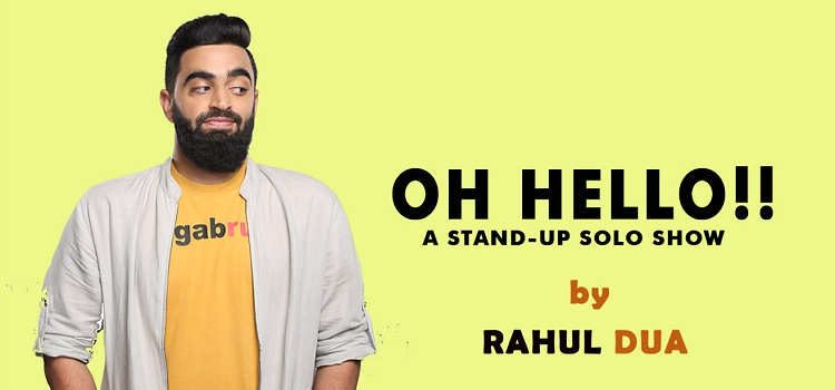 Comedian Rahul Dua Live In Chandigarh by Punjab Arts Council