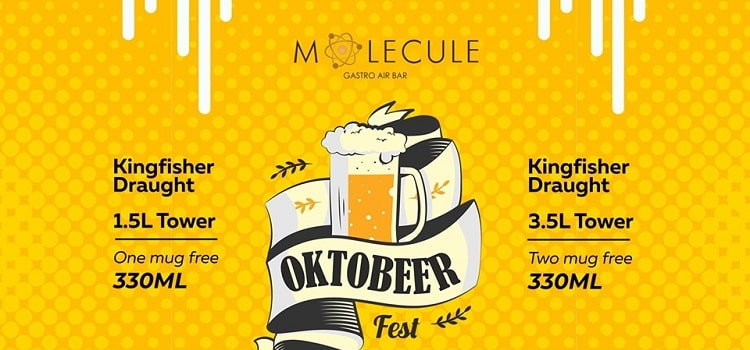 Oktobeer Event At Molecule Chandigarh by Molecule - Gastro Air Bar