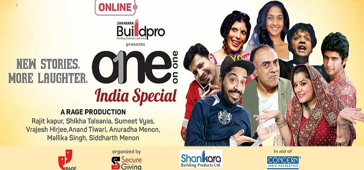 One On One-India Special Theatrical Evening