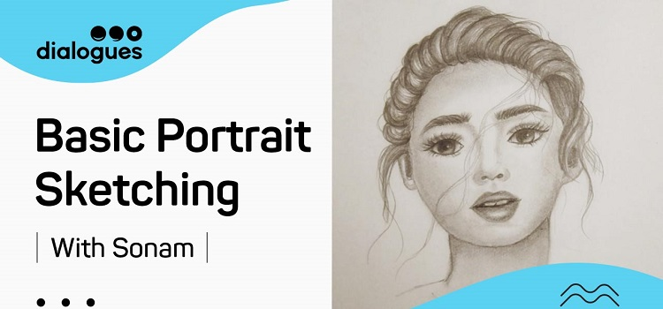 Online Basic Portrait Sketching With Poonam