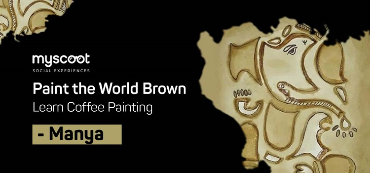 Online Coffee Painting Workshop With Manya