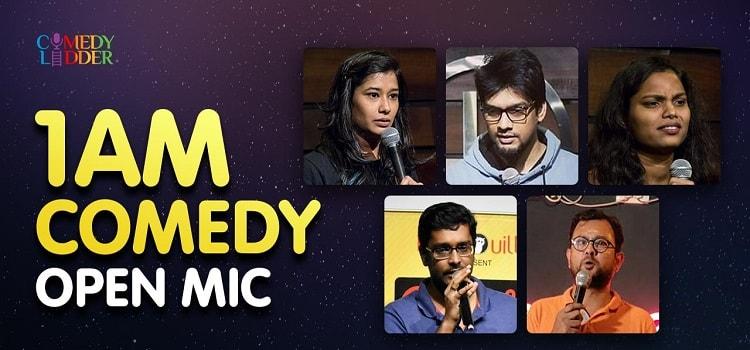 1 AM Online Comedy Open Mic