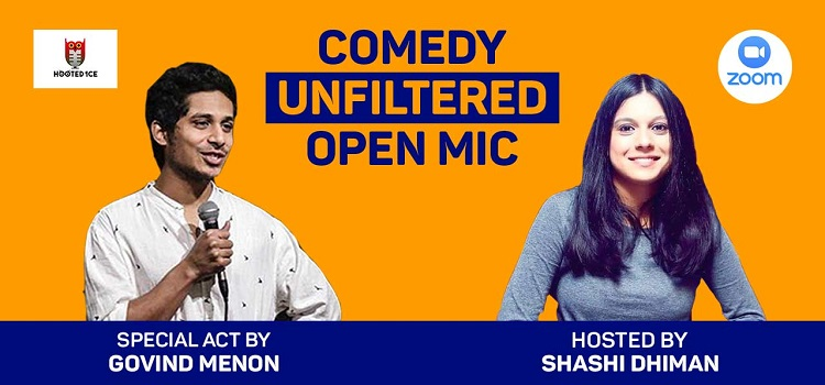 Online Comedy Unfiltered Open Mic