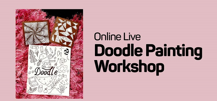 Online Live Doodle Workshop by Online Events