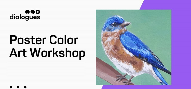 Online Poster Color Art Workshop