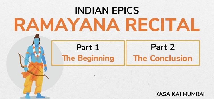 Online Ramayana Recital With Kasa Kai Mumbai