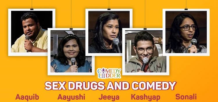 Online Sex Drugs And Comedy Event