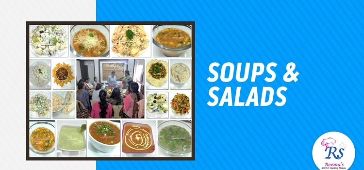 Online Soups & Salads Class By Reema