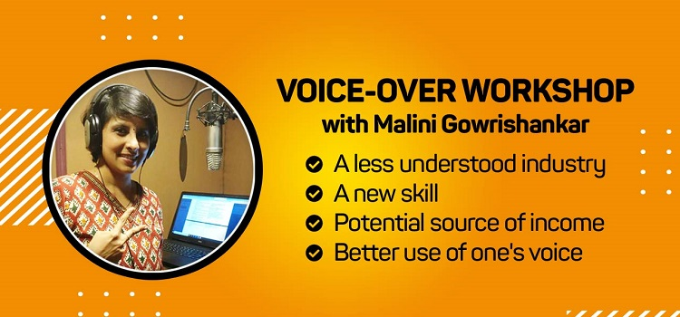 Online Voice-Over Workshop with MaliniGowrishankar