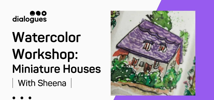 Online Watercolor Workshop With Sheena Anam