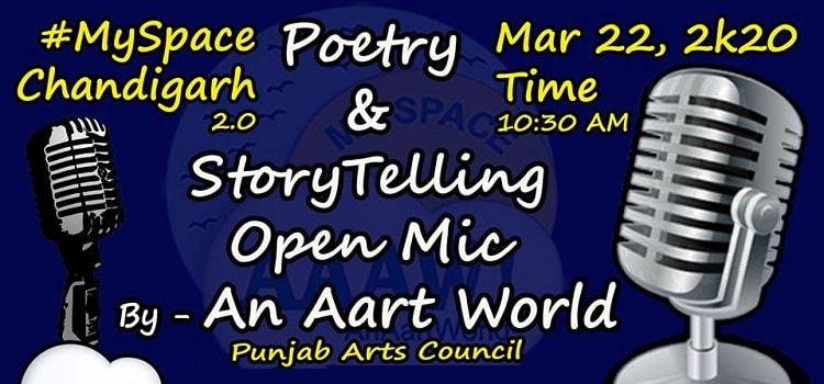 Open Mic At Punjab Arts Council Chandigarh