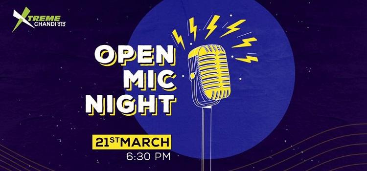 Open Mic Night At Xtreme Chandigarh