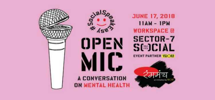 Open Mic Session On Mental health At Sector 7 Social, Chandigarh!