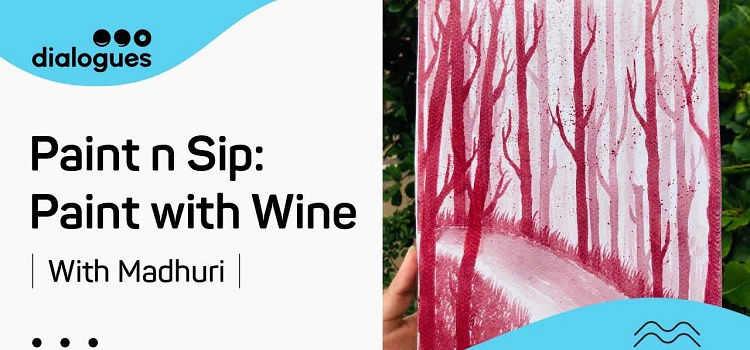 Paint Online Using Wine With Madhuri