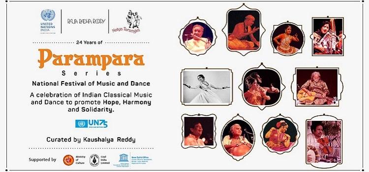 Parampara Series Online Festival October 2020