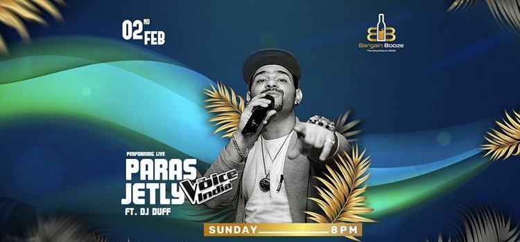 Paras Jetly Ft DJ Duff At Bargain Booze Chandigarh