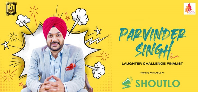 Parvinder Singh Live Comedy At Grapho Chandigarh