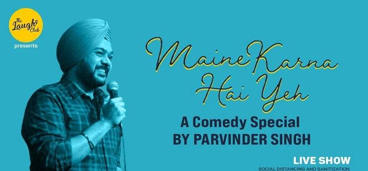 Parvinder Singh Live At Laugh Club Chandigarh