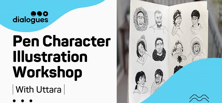 Pen Character Illustration Online Workshop