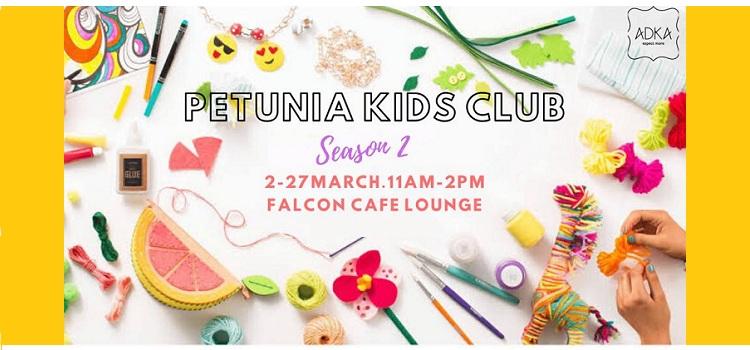 Petunia Kids Club - Season 2 At Falcon Cafe