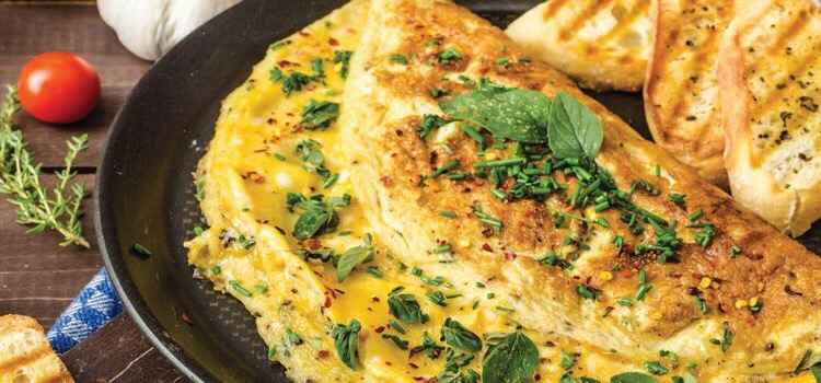 Head Here For Delicious Cheesy & Masala Omelette In Chandigarh