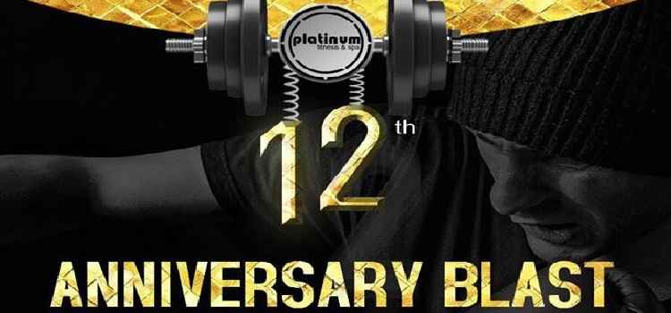 Celebrate Health With Platinum Gym's 12th Anniversary