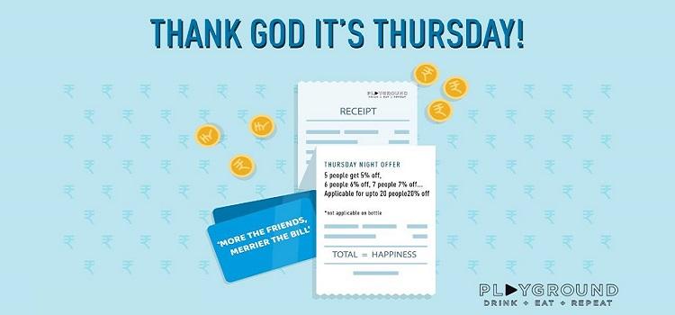 Playground Presents Thank God it's Thursday!