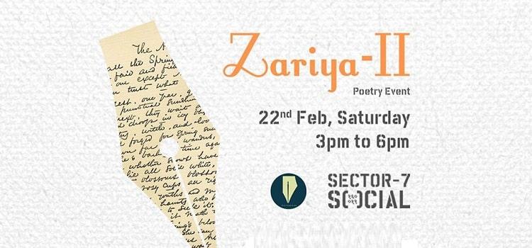 Zariya Poetry Event At Social Chandigarh