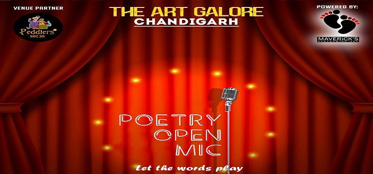 Poetry Open Mic At Peddlers Chandigarh by Peddlers