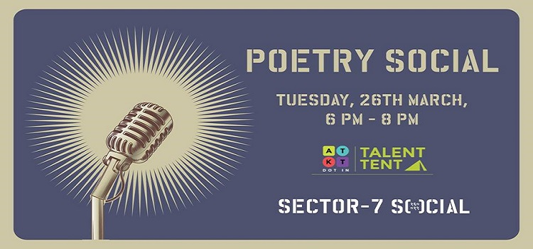 Poetry Social: ATKT Talent Tent X Social
