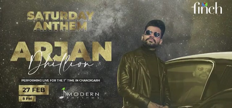 Popstar Arjan Dhillon Live At The Finch Chandigarh