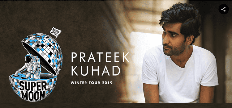 Prateek Kuhad Winter Tour 2019 In Chandigarh by Tagore Theatre
