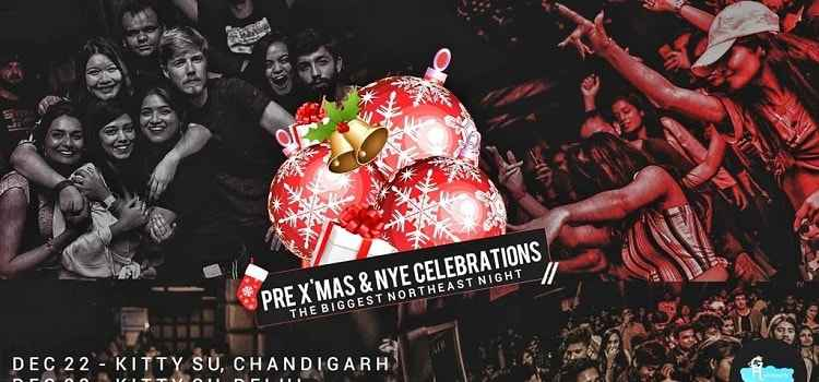 Pre Christmas & NYE Party: The Biggest Night At Kitty Su, Chandigarh