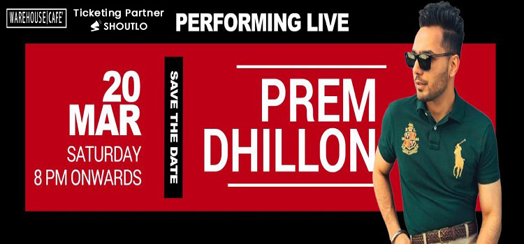 Prem Dhillon Live At Warehouse Cafe Mohali by Warehouse Cafe