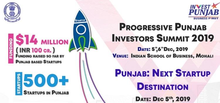 Progressive Punjab Investors Summit 2019