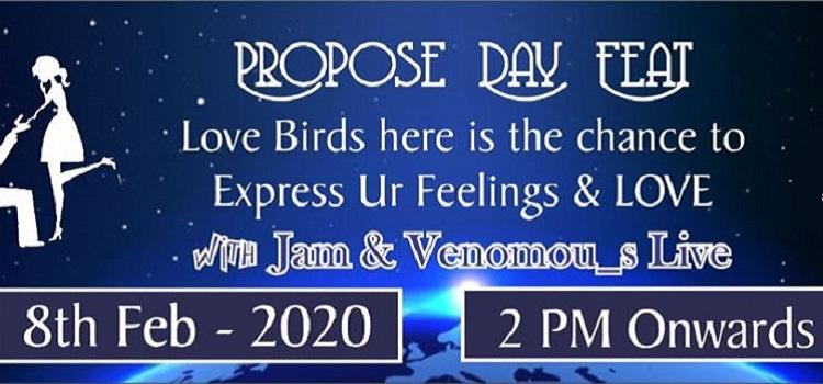 Propose Day Feat. Jam & Venomous At Space Bar