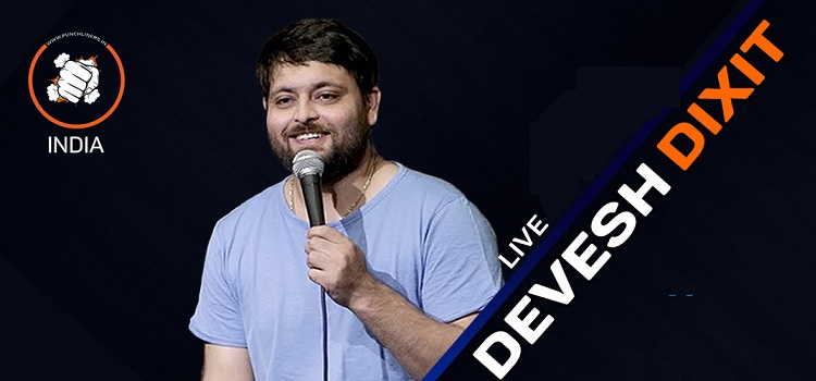 Punchliners Ft. Devesh Dixit Virtual Comedy Show