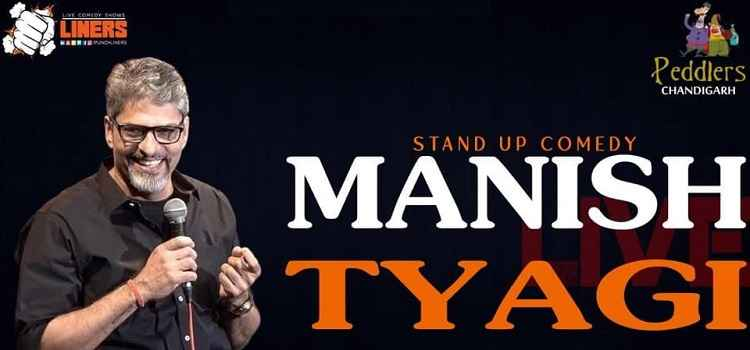 Punchliners Comedy Show ft. Manish Tyagi at Peddlers