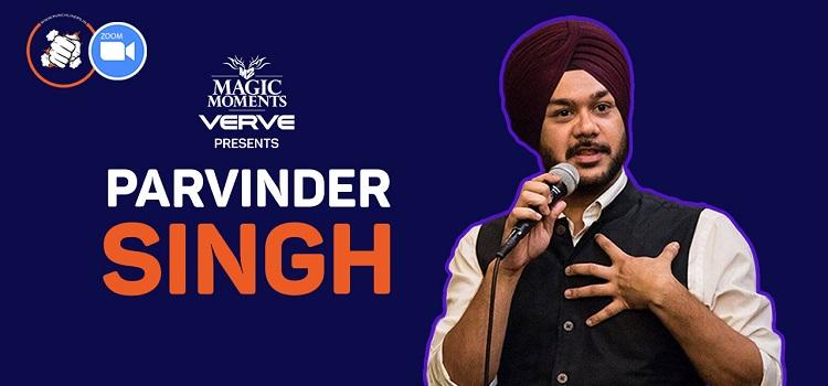 Punchliners Comedy Show ft. Parvinder Singh Live