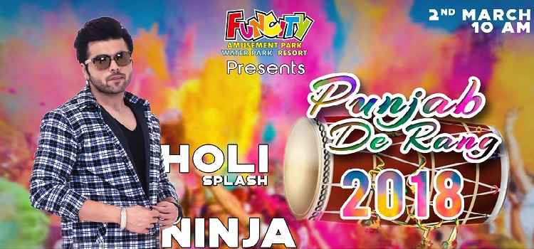 Gear Up For Happening Holi-Yapa With Funcity's Punjab De Rang